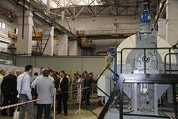Презентация инновационного дискового вакуумного фильтра КДФ-75 с керамическими фильтрующими элементами на заводе «Рудгормаш».