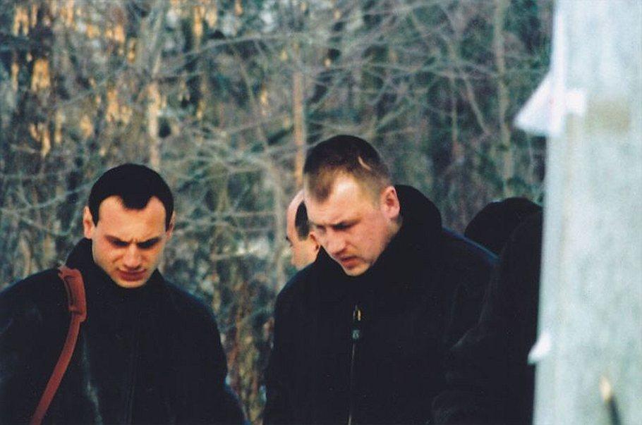 Руководителем ОПГ стал Сергей Володин (Дракон; на фото слева)
