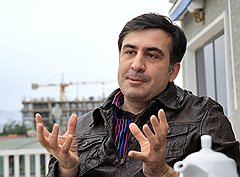 Президент Грузии Михаил Саакашвили