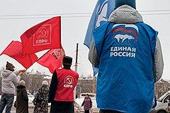 Коммунисты и единороссы обменялись побоями