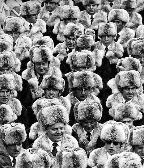 До 1988 года форму для сборной шили на фабрике в Ереване Инсбрук, 1976 г. Фото: AP.
