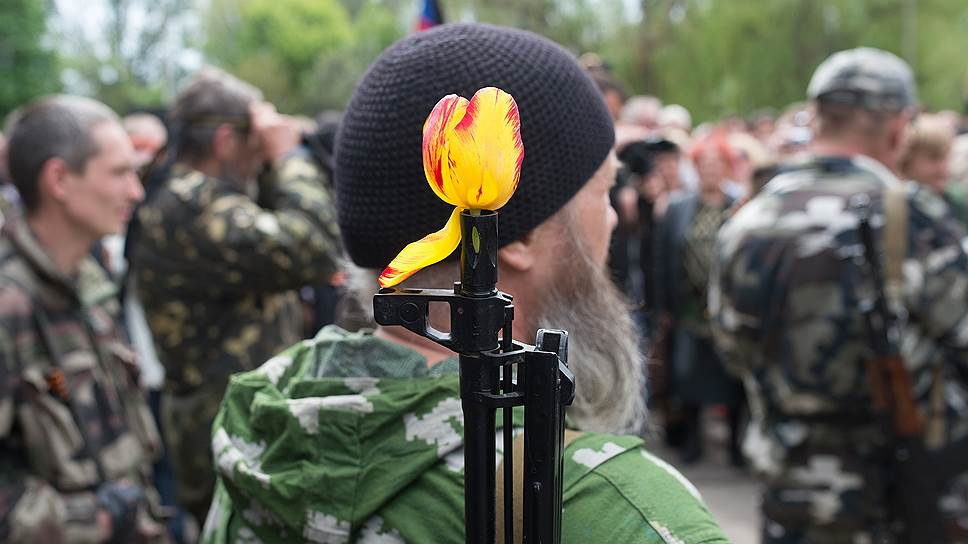 9 мая. Праздничные мероприятия, посвященные 69-й годовщине Победы в Великой Отечественной войне, в Славянске