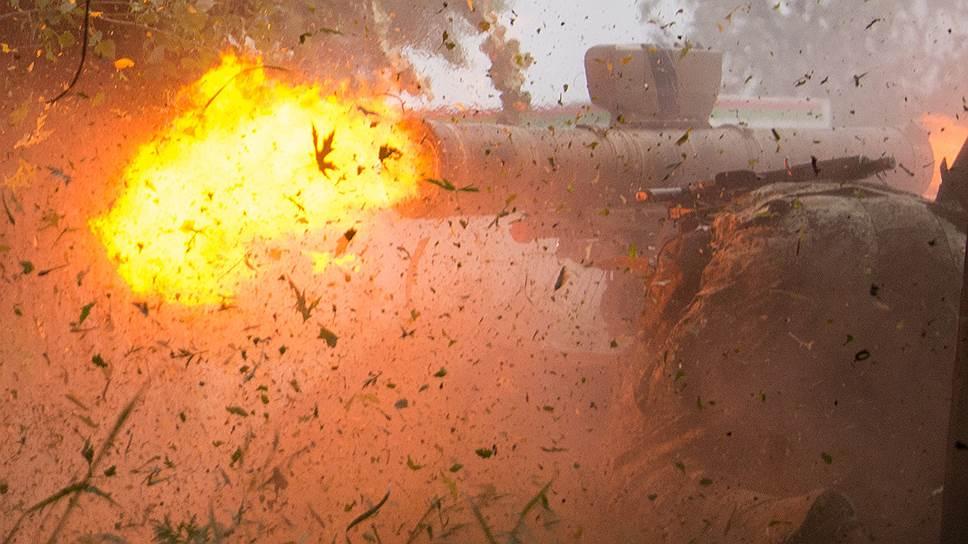 19 мая. Народные ополченцы обстреливают позиции украинской армии на окраине Славянска