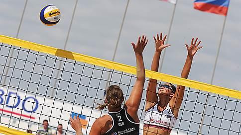 Финал турнира по пляжному волейболу среди женщин