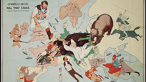 Карикатуры Первой мировой