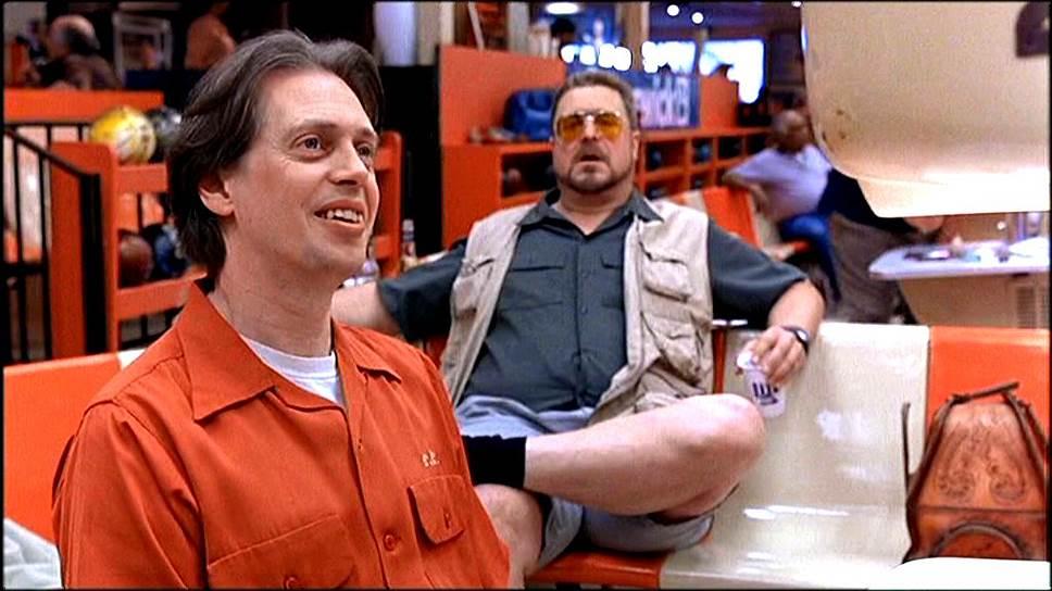 «Я так устал умирать в каждом фильме, что теперь всегда заглядываю в конец сценария, чтобы понять — будут ли моего героя унижать или просто по-быстрому прикончат» <br> На фото: Стив Бушеми (слева) и Джон Гудмен в фильме «Большой Лебовски»