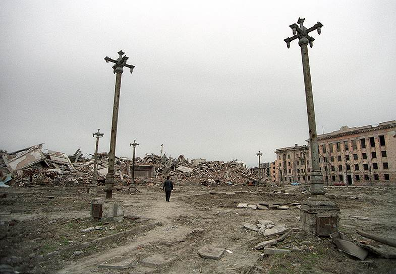 1996 год. Разрушенный Грозный