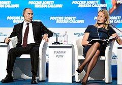 """Российского президента Владимира Путина и шведского инвестменеджера Кристину Стенбек объединяет то, что они знают про """"бизнес по-русски"""""""