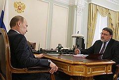 Путин и Артемьев