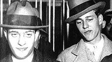 Леопольд (слева) и Леб (в центре) обладали прекрасным интеллектом, но совершали ужасно глупые убийства