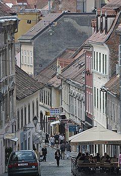 Старый город Загреба компактен и очарователен