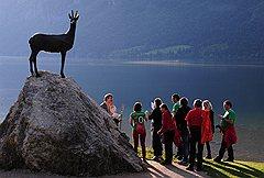 Окрестности озера Бохинь на территории национального парка Триглав выглядят очагом нетронутой первобытной природы