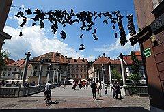 Тройной мост — главные ворота в Старый город Любляны