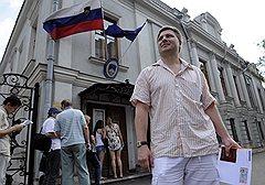 Поиски спокойного места для жизни привели Игоря Тарасова в посольство Словении в Москве