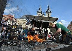 Мастерские художественной ковки успешно работают в Праге со времен Средневековья