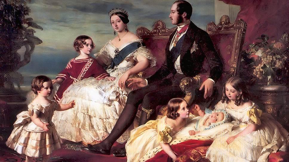 Сначала королева Виктория и принц Альберт удивились роскоши в доме герцога Букингемского, а потом удивились, как быстро он сделался нищим<br /><br /><br /><br /><br />