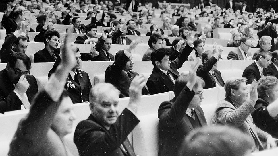 Исторический опыт подсказывает: образцово-показательное единодушие — спорное достижение