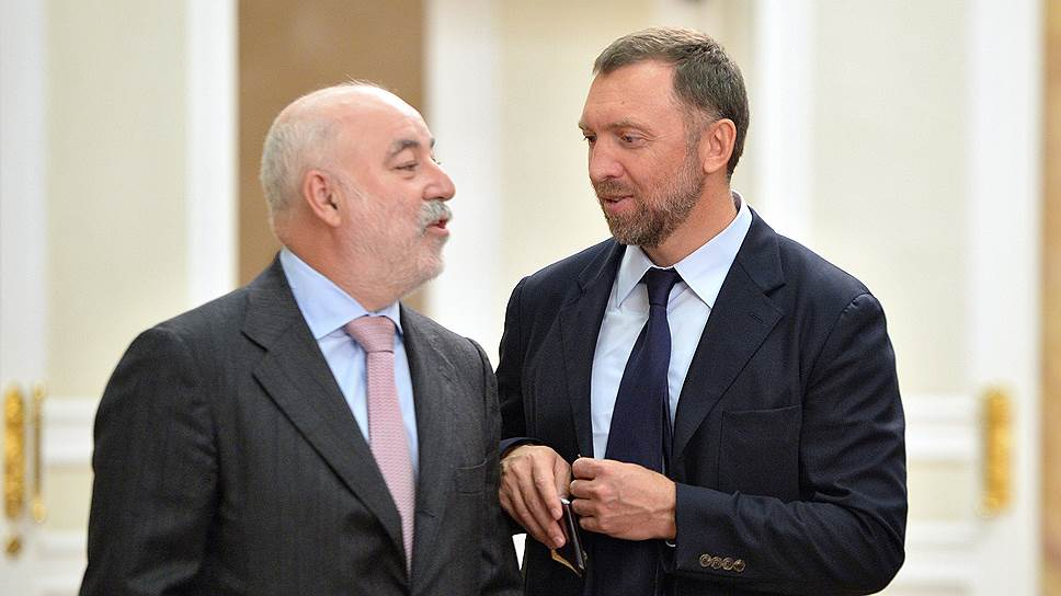 Спор между Виктором Вексельбергом (слева) и Олегом Дерипаской (справа) вокруг Богословской ТЭЦ длился полтора года