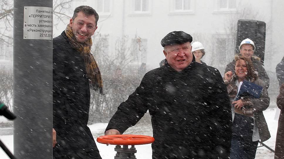 Глава КЭСа Борис Вайнзихер (слева) и нижегородский губернатор Валерий Шанцев рассчитывают, чтообновленная ТЭЦ будет способствовать развитию кстовской промзоны