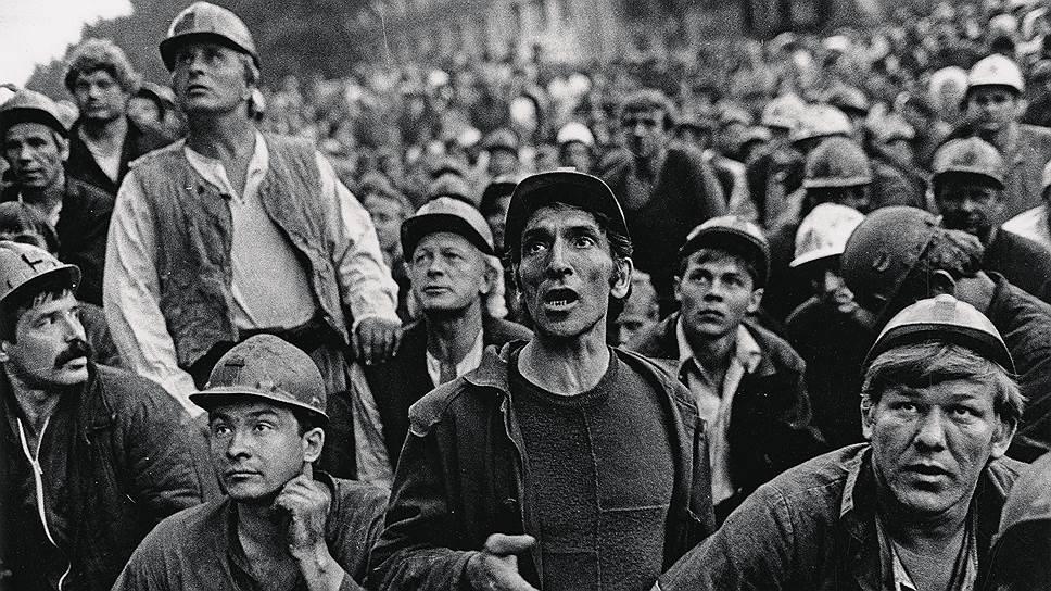 Стволовые клетки. Протестное движение в России после развала СССР началось с забастовок и митингов шахтеров-угольщиков, стучавших касками в Москве на Горбатом мосту. Сегодня горняки и металлурги по-прежнему остаются самой мятежной кате-горией в России