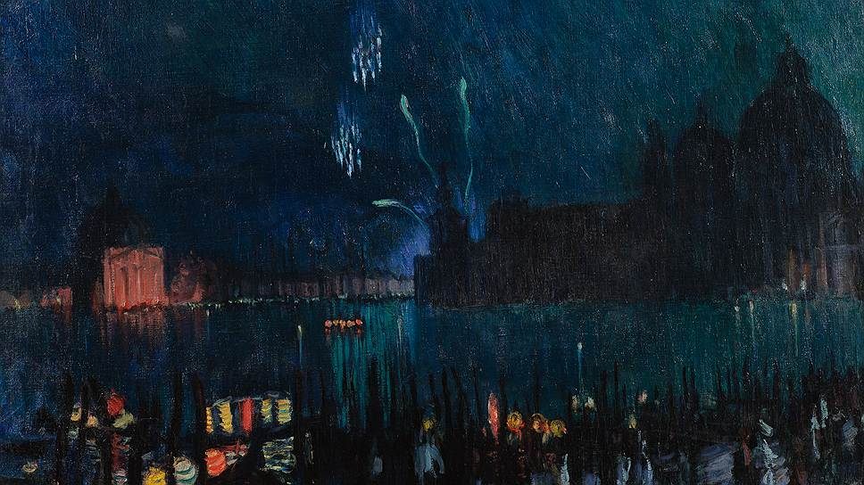Борис Кустодиев. «Венеция», 1913 год