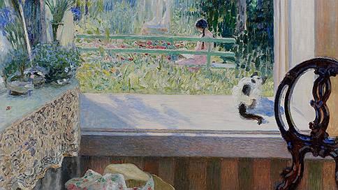 Николай Богданов-Бельский. «Окно в сад», 1911 год