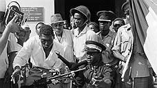 Фельдмаршал Джо Окелло после свержения занзибарского султана, январь 1964 года