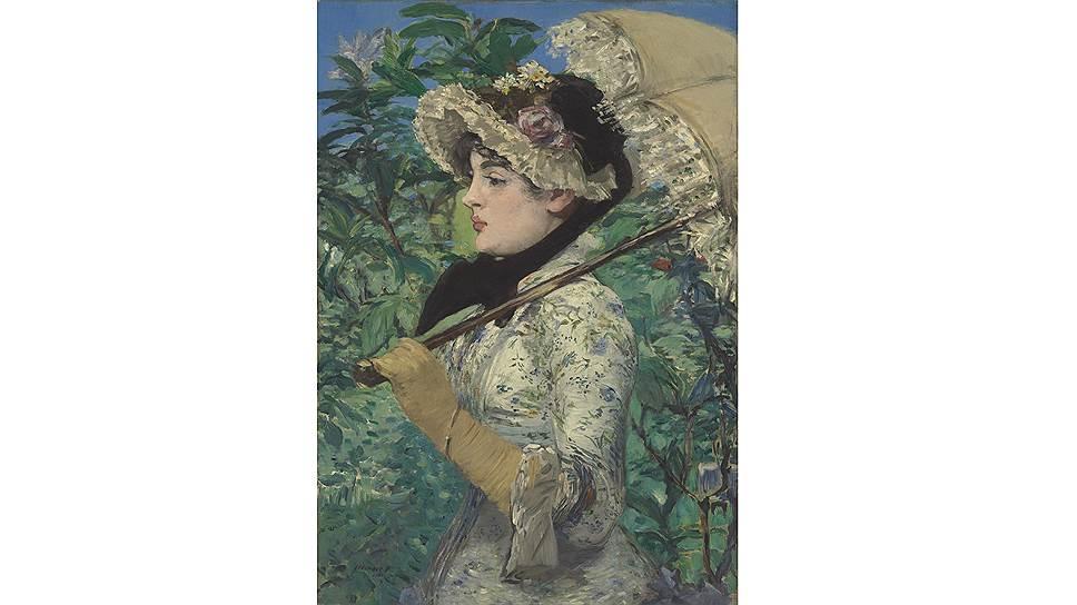 """Эдуард Мане. """"Весна"""", 1881 год"""