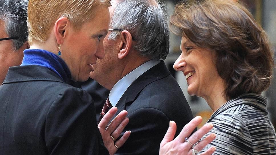 Помощница Барака Обамы Селест Уолландер (слева) стала для него главным источником знаний о России
