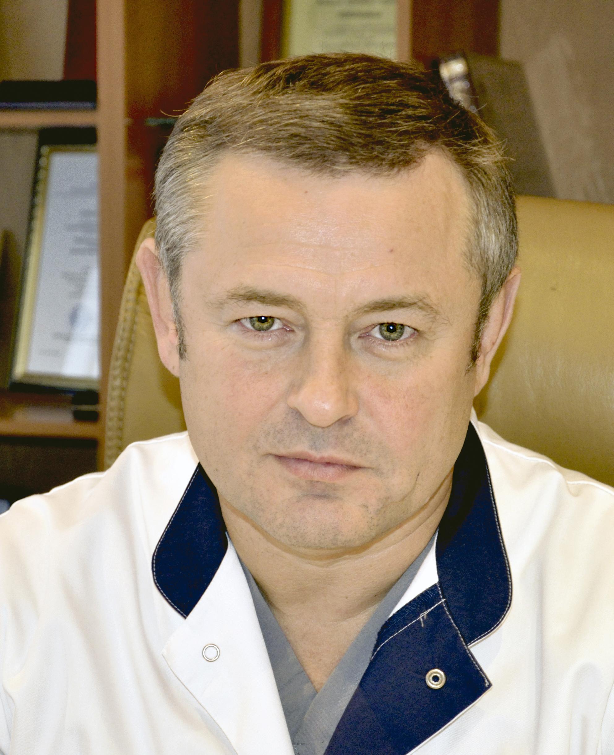 Главный врач РОКБ Вячеслав Коробка