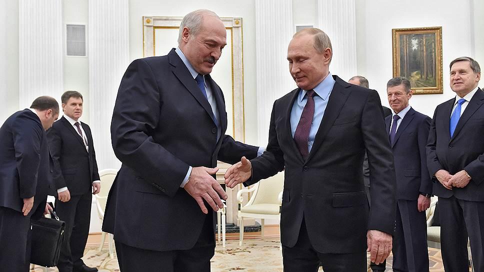 О чем на самом деле должны были договориться Владимир Путин и Александр Лукашенко