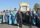 В сентябре 2015 года икона «Знамение прибыла» в Курск