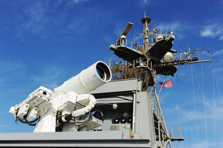 Лазерная противовоздушная система