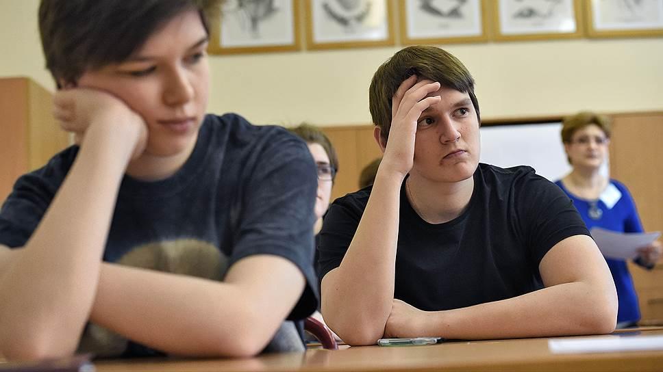 Задания Олимпиады школьников получили всероссийскую известность / Минобрнауки борется с утечками