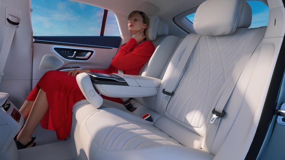 Mercedes-Benz EQS как эко-альтернатива S-Классу