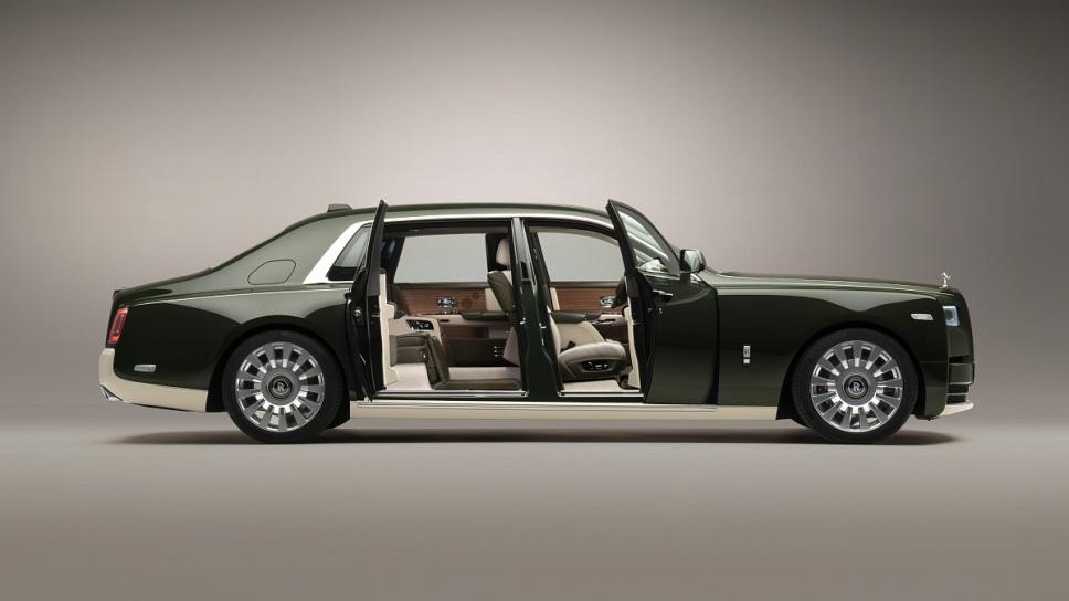 Rolls-Royce Phantom Oribe c салоном от Hermes