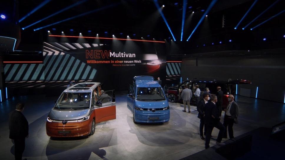 Volkswagen представил новый Multivan