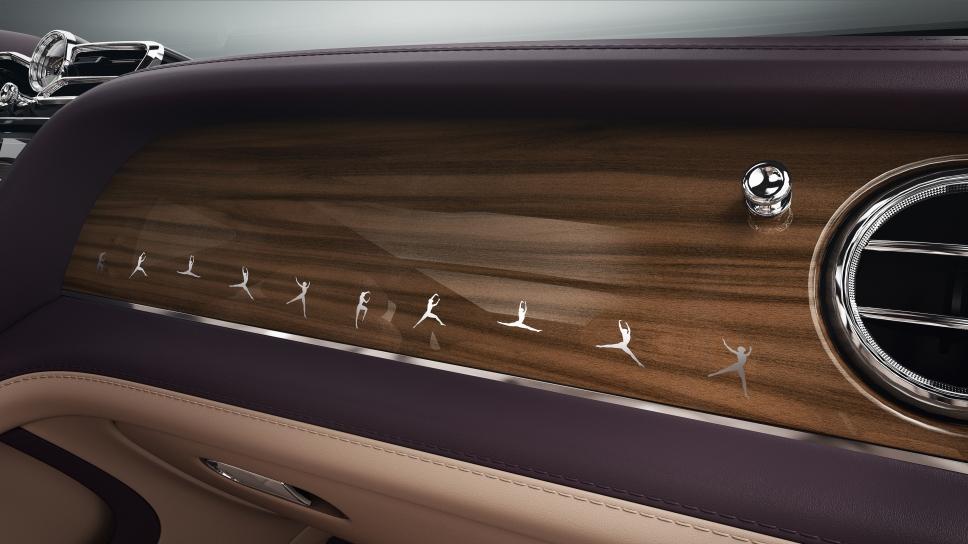 Марка Bentley выпустила «балетную» версию Bentayga Speed
