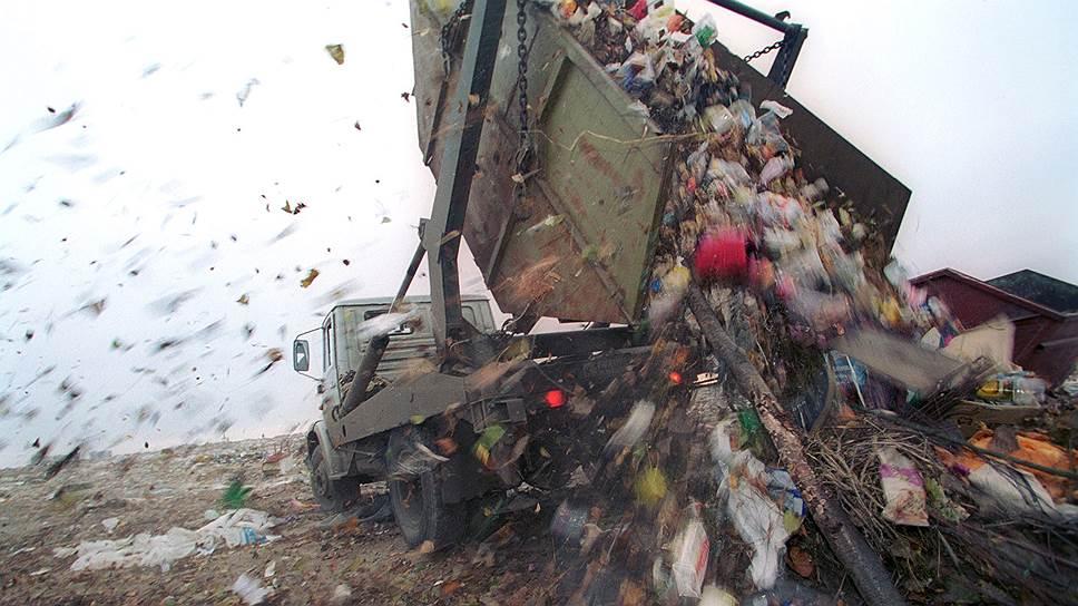 Кто зарабатывает на вывозе и захоронении отходов