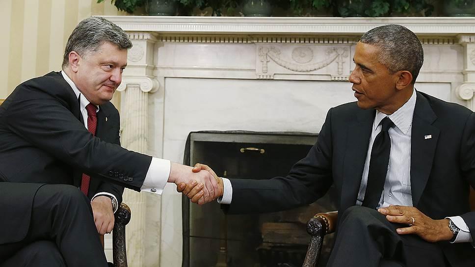 Как Петр Порошенко заручился поддержкой США