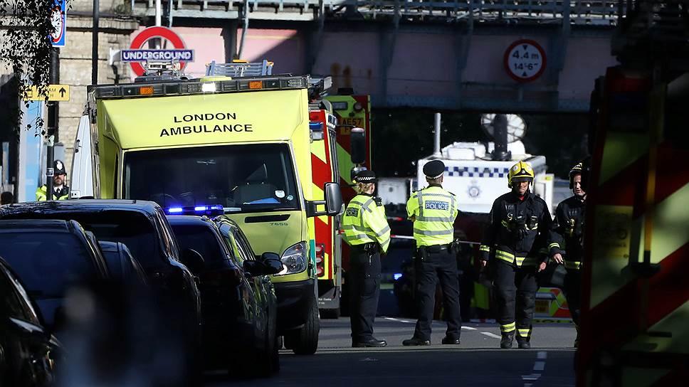 """Корреспондент """"Ъ FM"""" в Лондоне — о теракте в метро"""