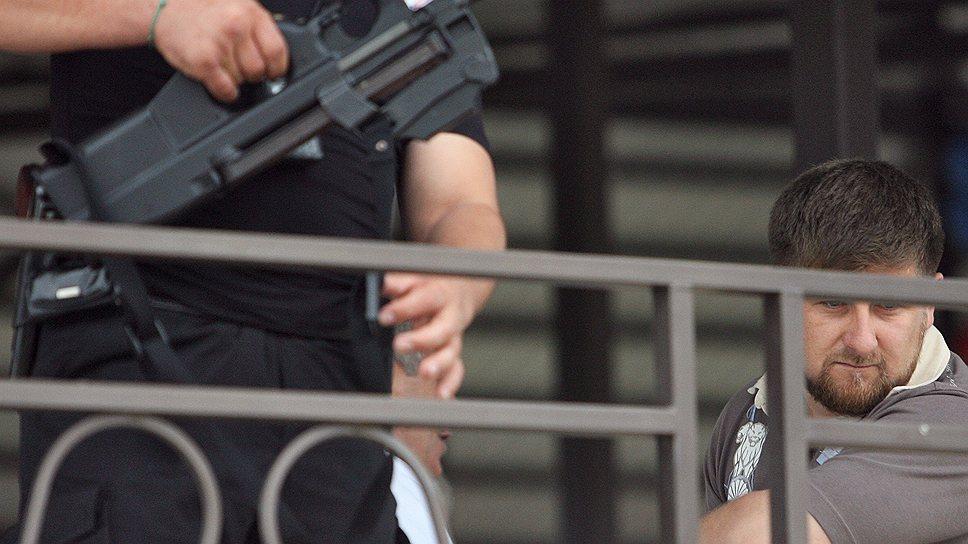 Следствие распустило охрану Рамзана Кадырова