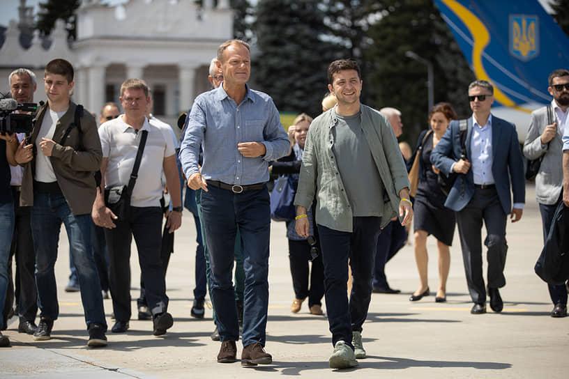 Как Владимир Зеленский борется за избирателей юго-востока