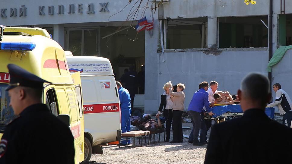 Студент колледжа убил 18 человек в Керчи