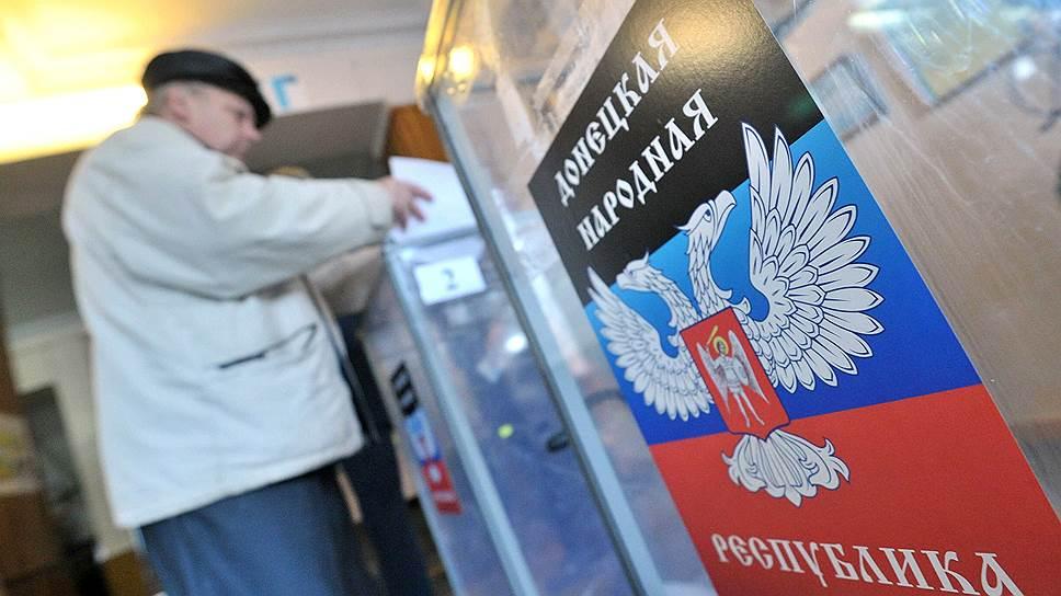 У республик Донбасса нет денег на выборы