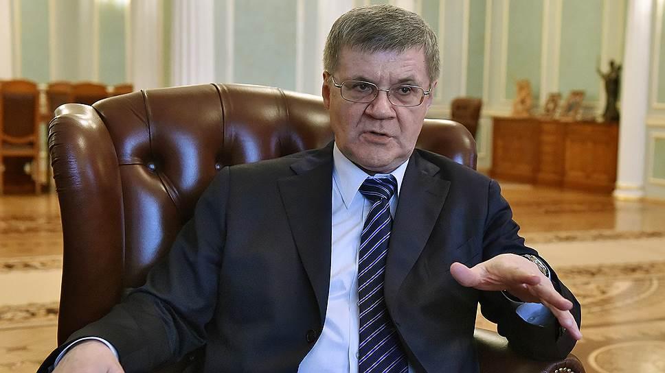 """Генпрокурор Юрий Чайка в интервью """"Ъ """" — о противодействии коррупции"""