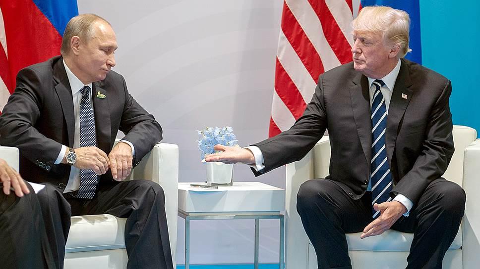 Владимир Путин и Дональд Трамп встретятся в Хельсинки 16 июля