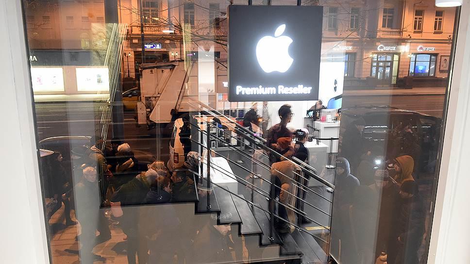 Как продают место в очереди за новыми iPhone