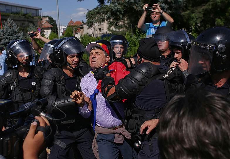 Протест в Бухаресте