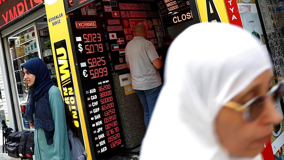 Почему продолжается девальвация турецкой валюты